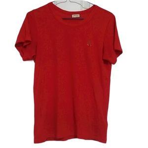 Aritzia Sunday Best Red Cherry Tshirt